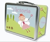 Red Hair Fairy Personalized Lunch Box