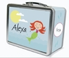 Red Hair Mermaid Personalized Lunch Box