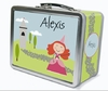 Red Hair Princess Personalized Lunch Box
