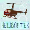 Red Helicopter Canvas Wall Art