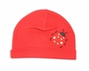 Red Ladybug Applique Cotton Hat