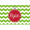 Red Ornament Personalized Placemat