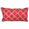 Red Piazza Pillow