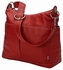 Red Two Pocket Hobo Diaper Bag