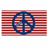 Red White and Blue Peace Personalized Placemat