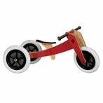 Red Wishbone Bike - 3 in 1