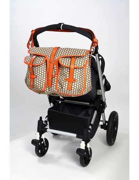 Reese Black Bean Diaper Bag
