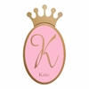 Regal Crown Personalized Wall Plaque in Gold