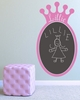 On Sale Regal Princess Crown Chalkboard Wall Decal