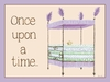 Regal Storybook Bed Lavender Canvas Wall Art
