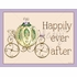 Regal Storybook Coach Lavender Canvas Wall Art