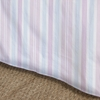Regal Stripe Blush Bedskirt