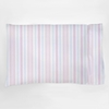 Regal Stripe Blush Pillowcase Set