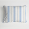 Regal Stripe Gold Boudoir Pillow