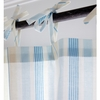 Regal Stripe Gold Curtain Panel Set