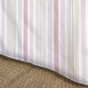 Regal Stripe Orange Bedskirt