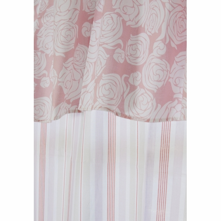 Regal Stripe Orange Curtain Panel Set