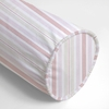 Regal Stripe Orange Neckroll Pillow