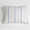 Regal Stripe Pearl Boudoir Pillow