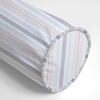 Regal Stripe Pearl Neckroll Pillow