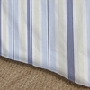 Regal Stripe Sky Bedskirt