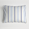 Regal Stripe Sky Boudoir Pillow