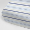 Regal Stripe Sky Crib Sheet