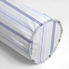 Regal Stripe Sky Neckroll Pillow