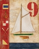 Regatta #9 Canvas Wall Art