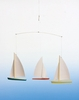 Regatta Mobile with 3 Sailboats