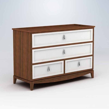 Regency 4 Drawer Dresser