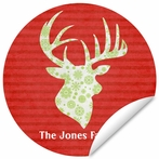 Reindeer Repeat Wall Decal