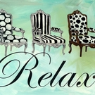 Relax Canvas Wall Art