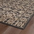 Restoration Aztec Flatweave Rug in Black