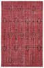 Restoration Southwestern Flatweave Rug in Red