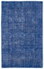 Restoration Tribal Flatweave Rug in Blue
