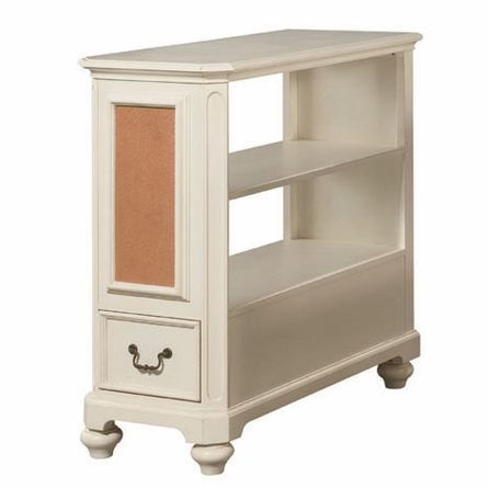 Retreat in Antique White Bookcase Nightstand