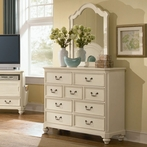 Retreat in Antique White Bureau