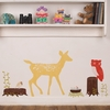 Retro Fabric Wall Decals