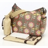 Retro Floral Hobo Diaper Bag