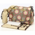 Retro Floral Messenger Diaper Bag