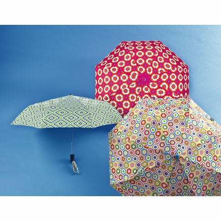 Retro Floral Umbrella