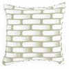 Retro Green Decorative Pillow