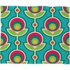 Retro Soft Fleece Throw Blanket