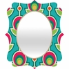 Retro Soft Quatrefoil Mirror