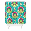 Retro Soft Shower Curtain