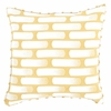 Retro Yellow Decorative Pillow