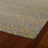 Revolution Circles Rug in Yellow