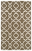 Revolution Lattice Rug in Light Brown