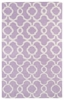Revolution Lattice Rug in Lilac